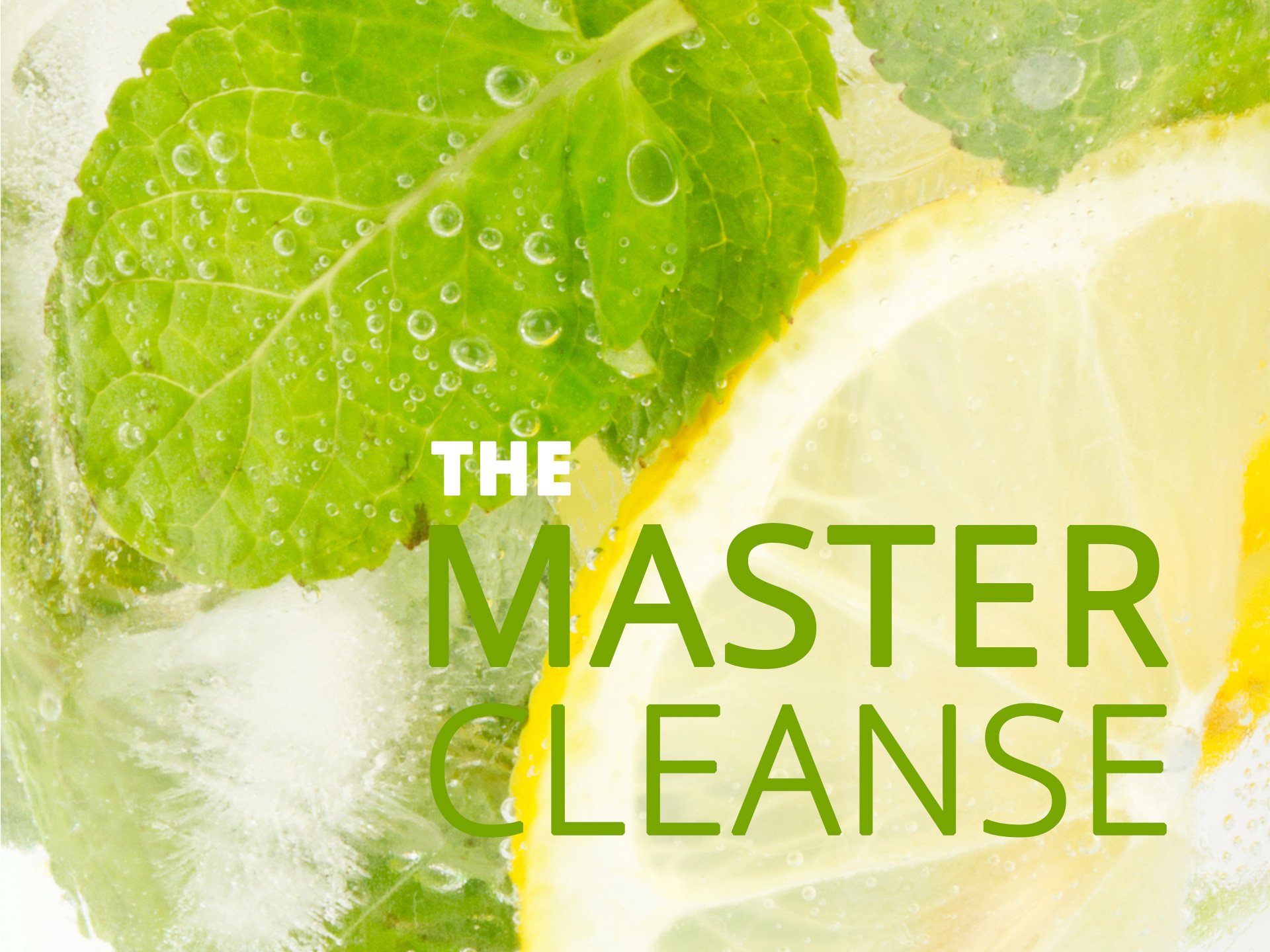 Lemon master cleanse benefits